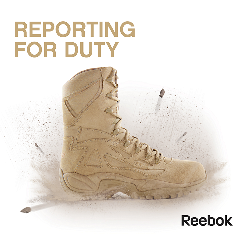 Reebok Replacing Discontinued Converse Military Boots