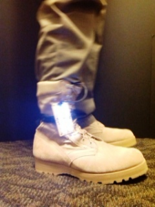 Walking Charger- Military Combat Boots