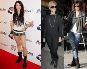 Military Combat Boots Celebrities