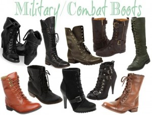 Military Combat Boots Fashion