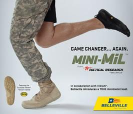 Minimalist Military Combat Boots
