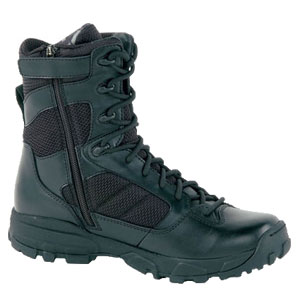 Altama 3454 LITESpeed Sidezip 8 Inch Black Boot