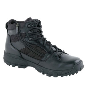 Altama 3466 LITESpeed Side Zip 6 Inch Black Boot