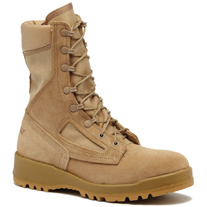 Belleville 390 DES Hot Weather Desert Tan Combat Boot