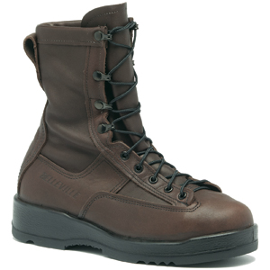Belleville 330 ST Brown Navy Steel Toe Flight Boot