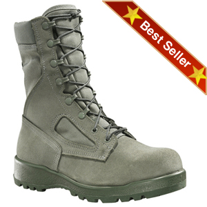 Belleville 600 ST USAF Hot Weather Steel Toe Boot, Belleville Sage Green Air Force Approved Combat Safety Toe Boots