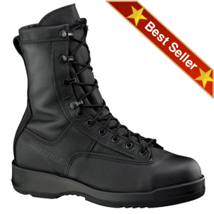Belleville 800 ST  Flight & Flight Deck Boots, Belleville Black Gore Tex Steel Toe Combat Boot