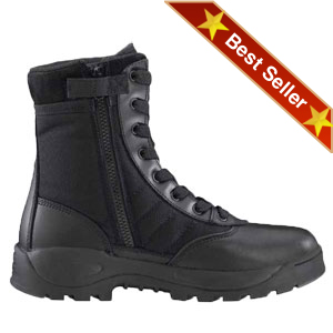 Original SWAT Classic 9 Inch Lightweight Safety Toe Side Zip Boot