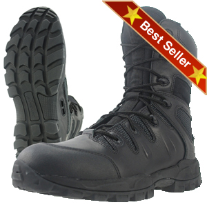 Wellco T121 Desert Sniper Boot, Wellco Black Sniper Low Profile Lightweight Tactical Combat Boots