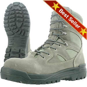 Wellco S176 Hot Weather Combat Boots, Wellco Signature Army ACU Approved Sage Green Infantry Combat Boots