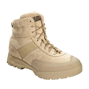 5.11 Advance Desert Tan Side Zip Tactical Boot