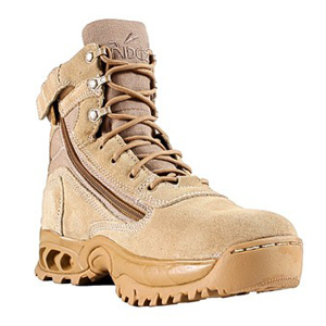 Ridge 3003Z Desert Storm Zipper Quarter Boot
