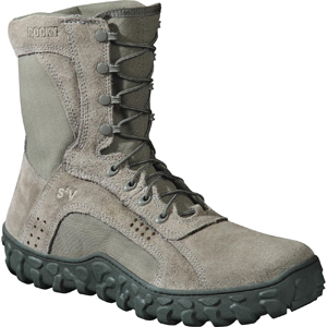 Rocky S2V Vented USAF Sage Green Military Duty Boot 103
