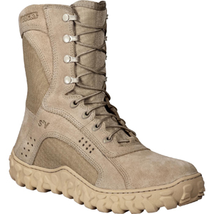 Rocky S2V Vented Desert Tan Military Duty Boot 105