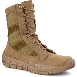 Rocky C4T USMC Trainer Coyote Tan Military Boot 1074