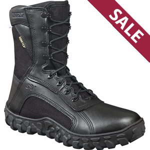 Rocky S2V Vented Black Military Duty Boot 323