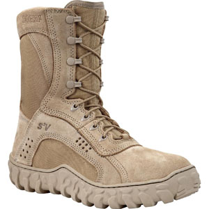 Rocky S2V Men's Desert Tan Steel Toe Military Boot 6101