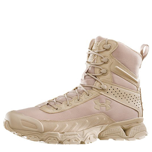 Under Armour Valsetz 7in Tan Tactical Boots