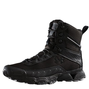 Under Armour Valsetz 7in Side Zip Black Boots