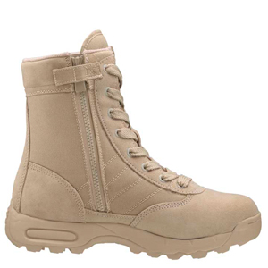 Original SWAT 1152 Classic 9 Inch Side Zip Tan Boot