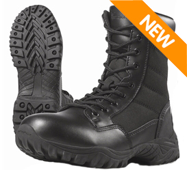 Wellco B109 Entry Black Side Zip Tactical Boot