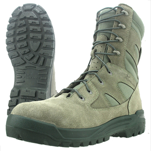 Wellco S477 Hot Weather Side Zip Combat Boot