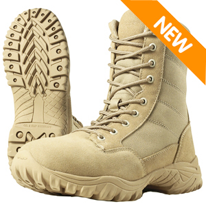 Wellco T109 Entry Desert Tan Side Zip Tactical Boot