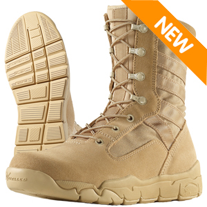 Wellco T120 Desert Tan E-Lite Combat Boot